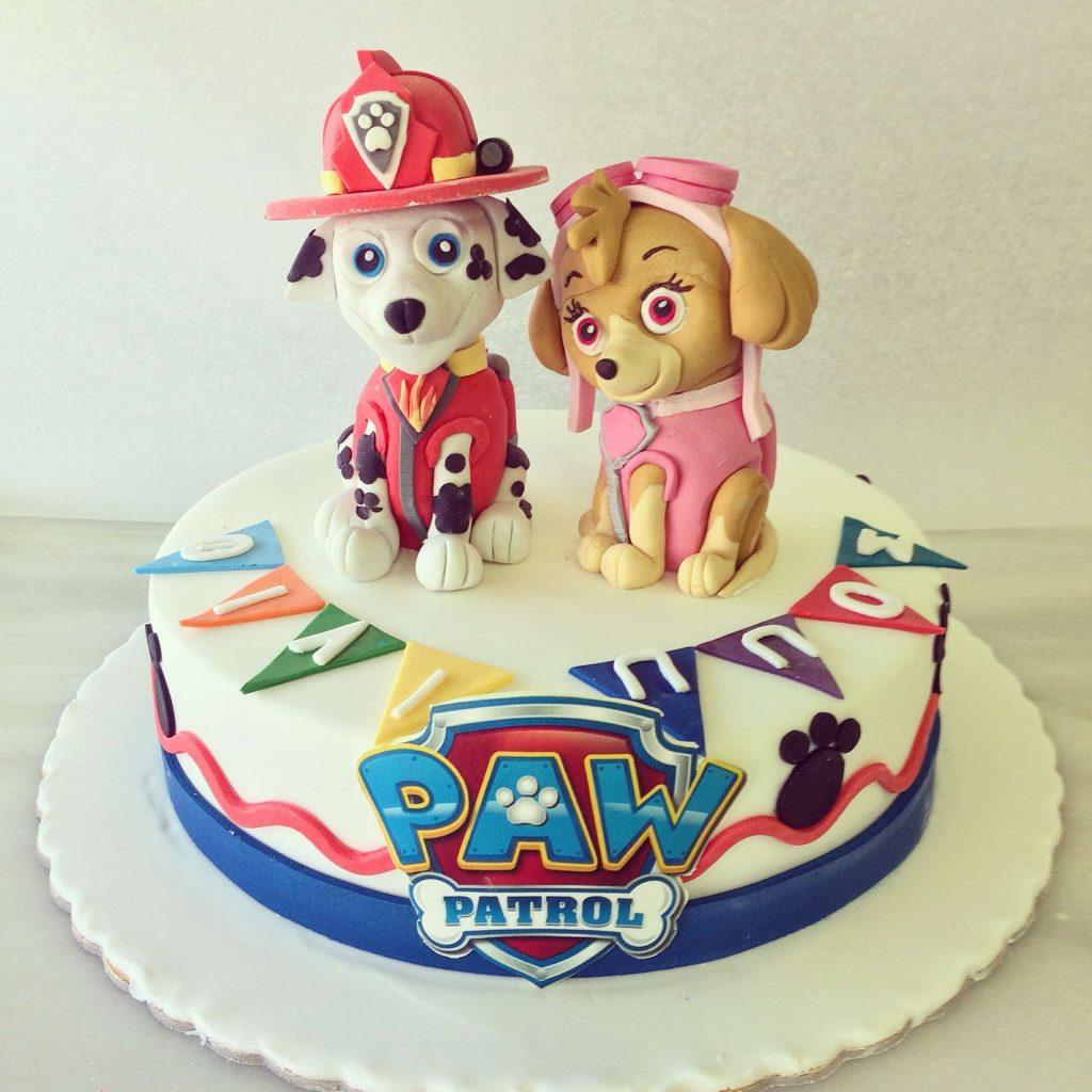 τούρτα paw patrol
