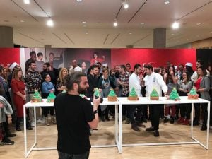 Giant Cupcake Workshop για τους εργαζόμενους της HM Ελλάδας ΠΑΠΑΣΠΥΡΟΥ
