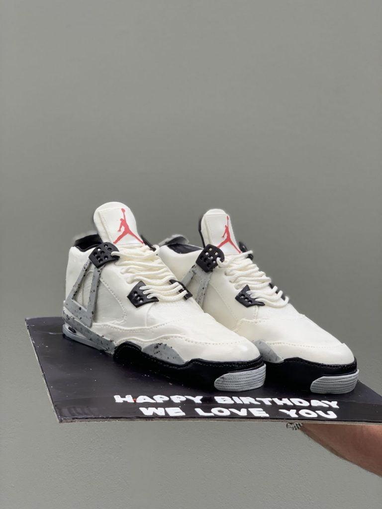 τουρτα παπούτσια jordan